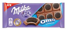 A Ty, z kim tworzysz zgraną parę?  Nowa tabliczka Milka z całymi ciastkami Oreo!