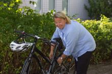 Tuijan työmatka taittuu polkupyörällä
