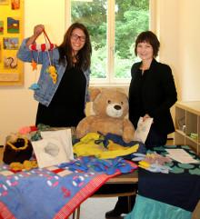 Maritimes Kinderspielzimmer für Bärenherz: Studenten der Sonderpädagogik der Uni Leipzig gestalteten textile Werkstücke für das Kinderhospiz