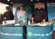 Opus Bilprovning på Classic Car Week