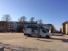 Beratungsmobil der Unabhängigen Patientenberatung kommt am 12. April nach Schweinfurt.