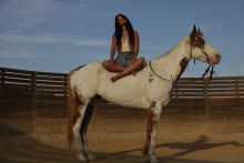Help Saie Saie tour California by horseback to save the last Wild horses in America !