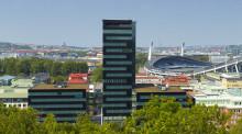 Skanska säljer fastigheten Gröna Skrapan i Göteborg för 617 miljoner kronor