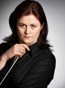 Dirigenten Anna-Maria Helsing hittade till yrket av slump