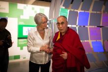 Dalai Lama begeistret for Be Democracy