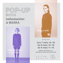 bellaobastian och MASKA öppnar POP-UP butik tillsammans under tre dagar