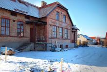 Hyllinge gamla skola byggs om till  5 spektakulära lägenheter