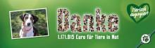 1,2 Millionen Euro! Fressnapf-Kunden setzen erneut ein eindrucksvolles Statement für den Tierschutz in Europa
