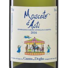 Bästa vinet till jordgubbar - NYA Moscato d´Asti DOCG från Gianni Doglia