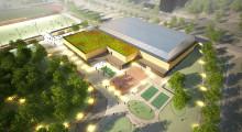 Vårbergs IP kan bli idrotts- och kulturcentrum med fokus på flickor