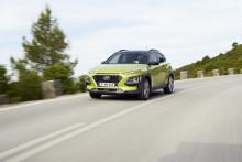 Hyundai lanserer priser på KONA