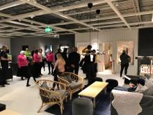 Inflyttningsfest när BoKlok flyttade in på IKEA Västerås i helgen!