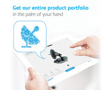 Cobham SAILORs produkter samlade i en app med visning i 3D