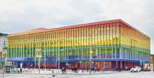 Litterär Salong på Stadsbiblioteket under West Pride