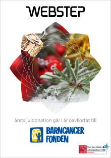 Årets julgåva går oavkortat till Barncancerfonden
