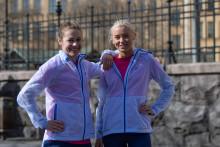 Skor, svett och pannben - följ Mica och Elmina mot ASICS Stockholm Marathon 2019