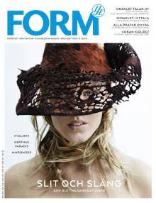 Nya numret av Form: Komposterbart mode är framtiden