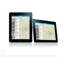 Bestill hotell i tre trinn med iPad-app