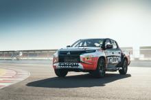 Nye Mitsubishi Triton/L200 - konkurrerer allerede i Australias 2019 SuperUte racingserie