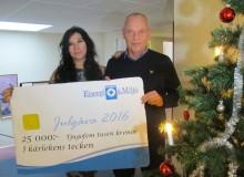 Årets julgåva går till lokal välgörenhetsfond