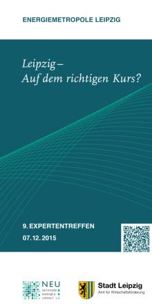 Flyer zum Expertentreffen 2015