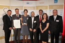 AbbVie Deutschland als Sieger mit Corporate Health Award 2017 ausgezeichnet