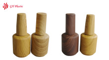 GH Plastic Manufacturing Co., Ltd Developed A Range Of Nail Polish Wood Grain Design Bottles
