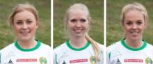 Ellen Gibson, Ellinor Lindbom och Cattis Dahlström fortsätter i Hammarby-tröjan
