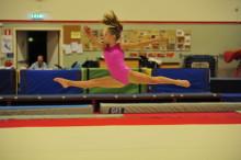 Emma Larsson - ny svensk toppgymnast på internationell nivå