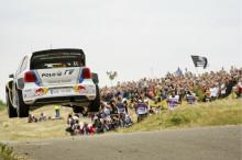Volkswagen behåller ledningen i rally-VM
