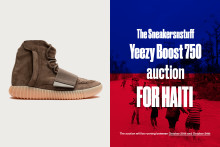 Sneakersnstuff for Haiti