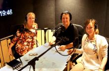 Hannah Widell pratar amning i podden Föda barn