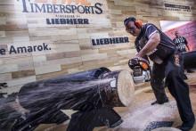 Rekordmange tilskuere under VM i Timbersports