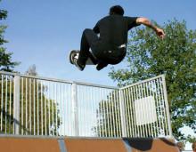 Ljustadalen i Sundsvall har fått en ansiktslyftning med ny Skatepark!