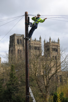 First phase of Digital Durham crosses the fibre broadband finishing line as second phase moves up a gear