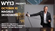 Magnus Skogsberg live at Hellstens Glashus WY13- fri entré