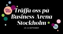 Träffa oss på Business Arena Stockholm