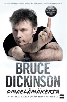Omaelämäkerran kirjoittanut Bruce Dickinson vierailee Suomessa