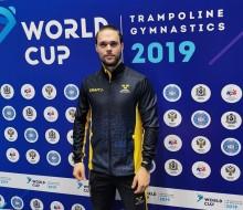 Bra kvaldag i världscupen i trampolin och DMT