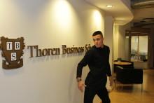 Thoren Business School-elev en av deltagarna i Let´s Dance