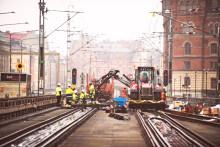 Strukton underhåller cityspår i Stockholm