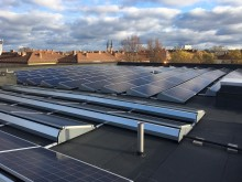 Först med energilagring med miljövänligt batteri
