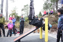 Sprek åpning av aktivitetspark på Bømlo