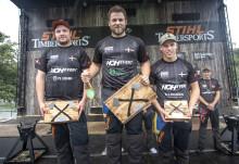 Calle Svadling vann dubbelt i Timbersports Trollhättan Cup
