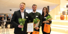 Studentuppsatser om överlagring av realtidsvideo och ökad återvinning med hjälp av nya miljöhus belönade