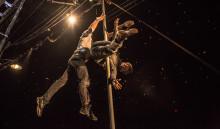 Kanadensisk cirkusmaskin med akrobatik i toppklass