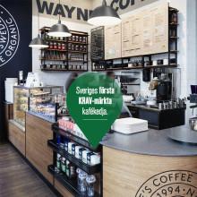 Mer KRAV-märkt när Wayne's Coffee öppnar på SöDER i Helsingborg