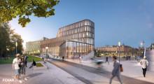 FOJAB arkitekter ritar ny tingsrätt i centrala Lund