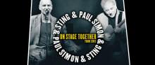 Paul Simon och Sting kommer till Sverige – unik möjlighet till förköp för American Express Kortmedlemmar