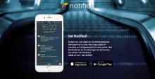 Omvärldsbevakaren Notified lanseras i ny app